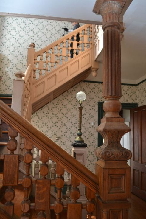 Beautiful newel posts from 1890 Victorian house
