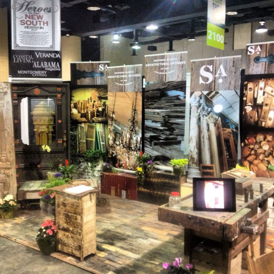 Southern Accents At The Birmingham Home And Garden Show