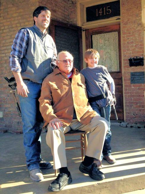 Dr. Gudger, Garlan Gudger, Jr. & Garlan Gudger III (Tripp)