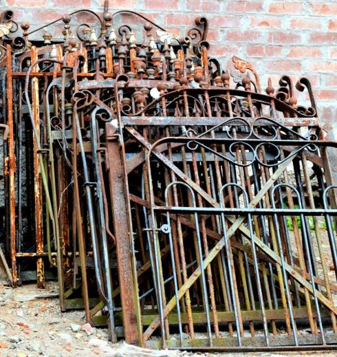 The most impressive set of iron gates we have ever had!