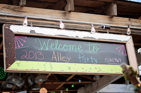 Southern Accents 2013 Alley Party