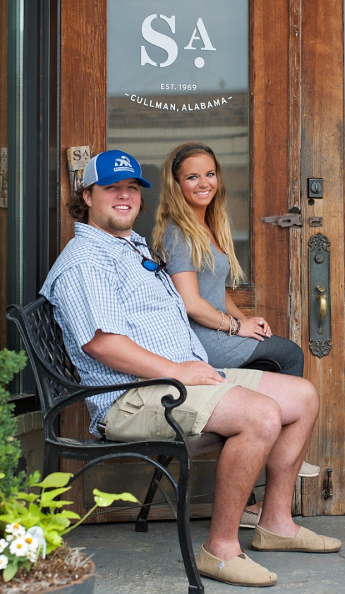 Stop by Southern Accents showroom and you will likely be greeting by Ben Sellers or Makenzie Maze.