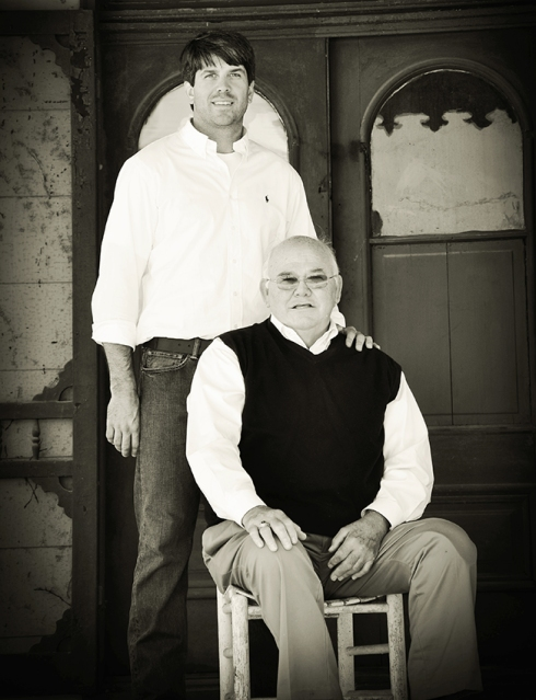 Dr. Garlan Gudger, Sr. and Garlan, Jr.
