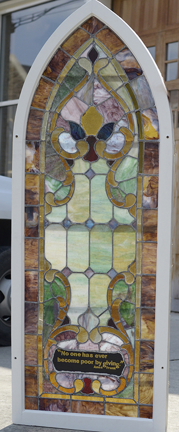 This beautiful window is one of 7 that we recently acquired.