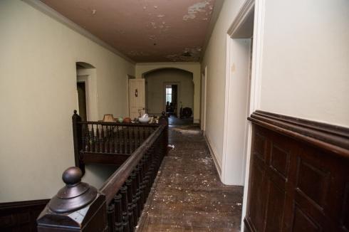 Second story hallway