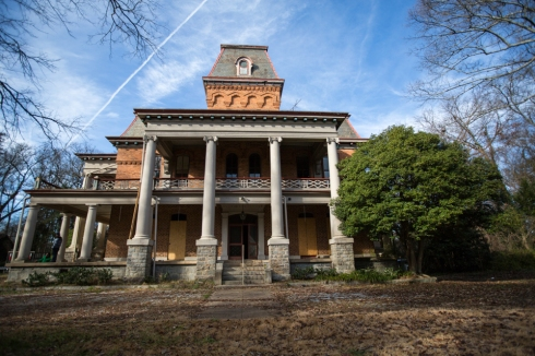 One of our most recent salvage projects, an 1894 house in South Carolina