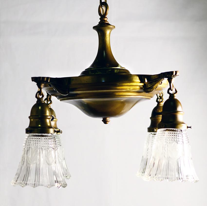 Light Fixtures Replacement Glass: Antique Pan Lights