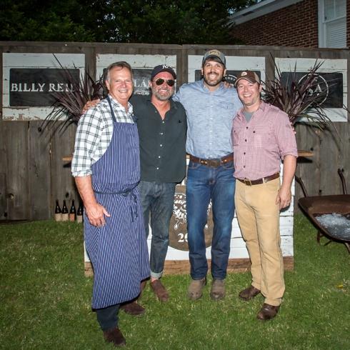 From left to right: Chef Frank Stitt, Designer Billy Reid, Architect Garlan Gudger, Blackberry Farm Brewer Roy Milner