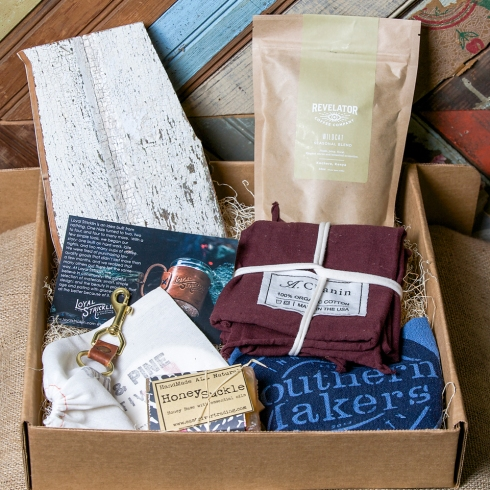 Each attendee of the Friends of the Cafe Dinner received a Maker Box.