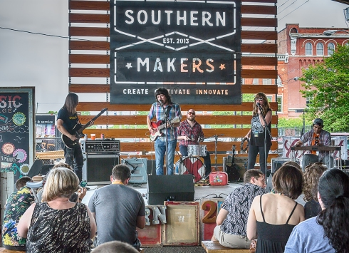 Southern Makers 2017 at Sloss Furnaces in Birmingham, Alabama