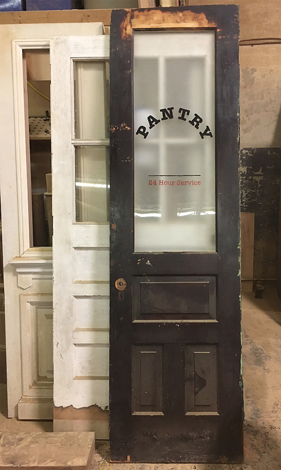 Antique Door, Salvaged Door, Old Door, Pantry Door